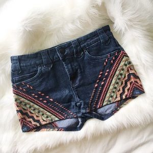 BDG High Waisted Denim Shorts